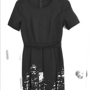 Dresses & Skirts - Black short sleeved dress